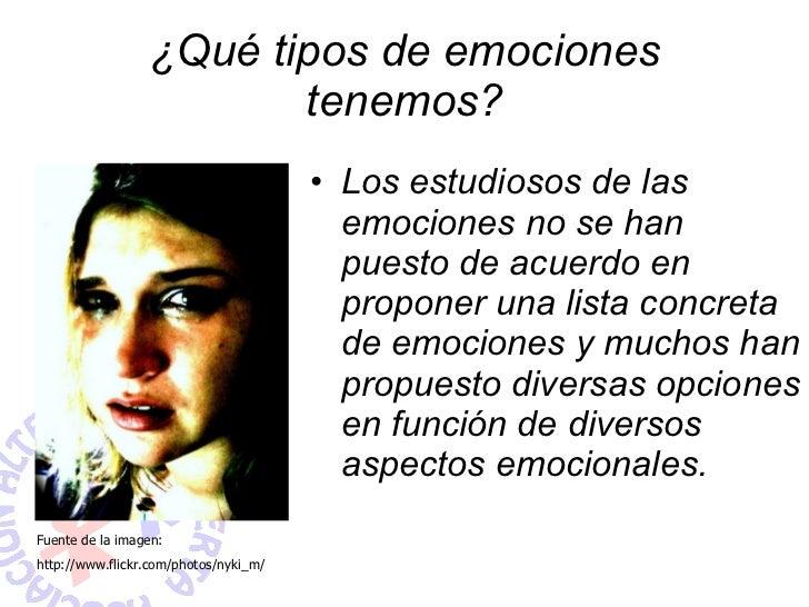 Tipos de Emociones Imagenes ¿qué Tipos de Emociones