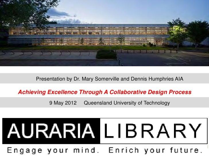 Qut presentation 9 may 2012