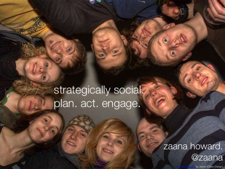 strategically social. plan. engage. act.