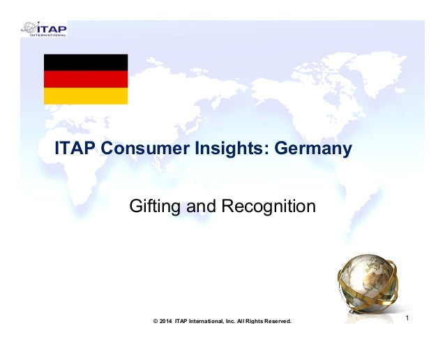 ITAP Consumer Insights: Germany