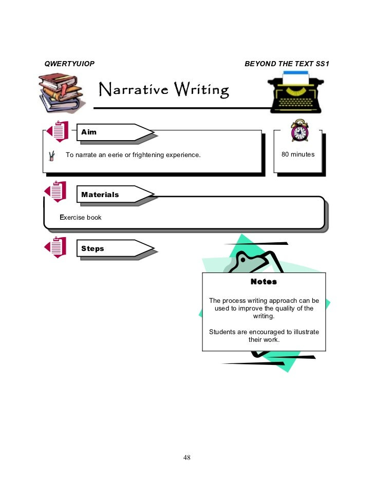 narrative essay about frightening experience Here you'll find a helpful list of 50 narrative essay topics but a narrative essay can also tell an a time that you experienced something truly frightening.