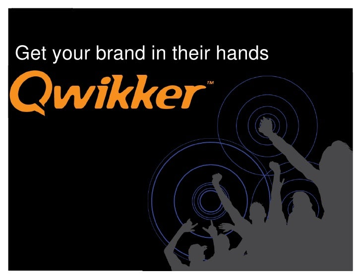 Get your brand in their hands
