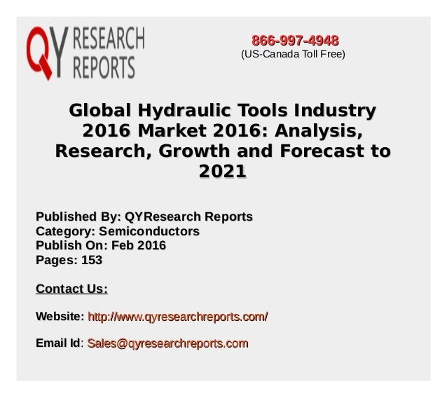 global and china hydraulic industry report The global hydraulic dock leveler industry 2016 market research report is a professional and in-depth study on the current state of the hydraulic dock leveler industry.