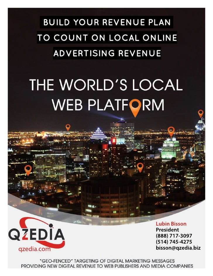 Qzedia: the World's Local Web Platform