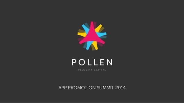 APP PROMOTION SUMMIT 2014