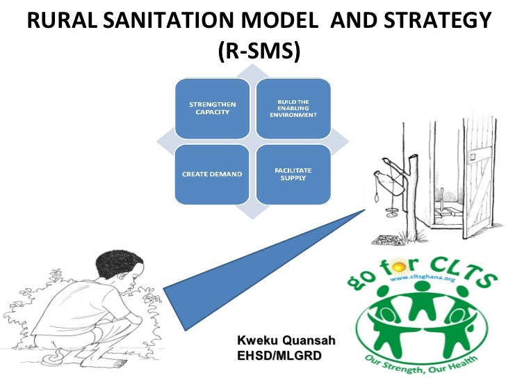 RURAL SANITATION MODEL AND STRATEGY               (R-SMS)               Kweku Quansah               EHSD/MLGRD