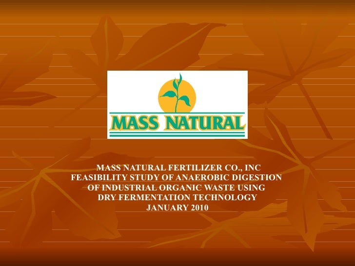 Feasibility Study on Implementing Dry Fermentation Tech - Spencer