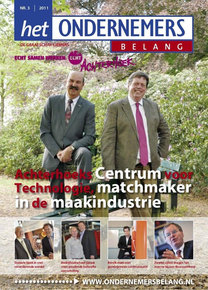3e editie 2011 Ondernemersbelang de Graafschap-Liemers