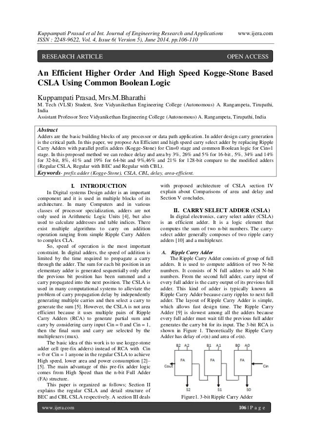 Kuppampati Prasad et al Int. Journal of Engineering Research and Applications www.ijera.com  ISSN : 2248-9622, Vol. 4, Iss...