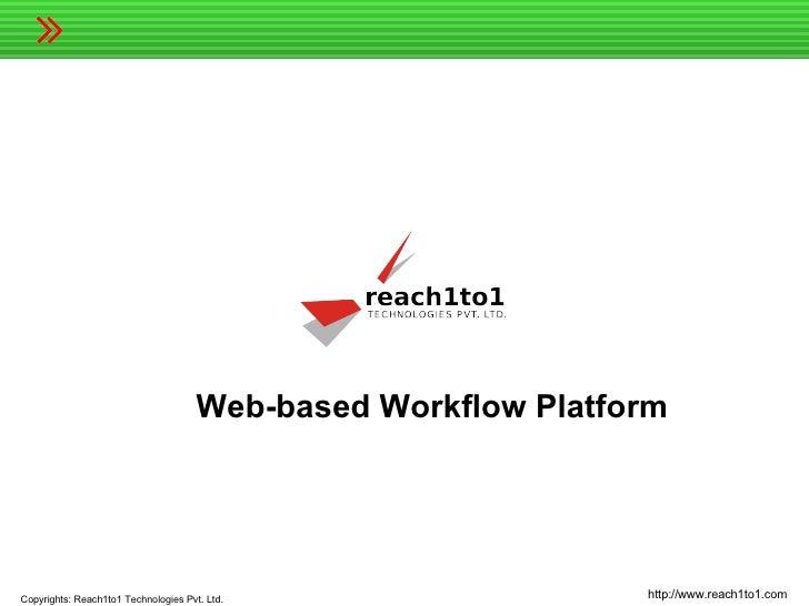 Scalable web-based workflow platform