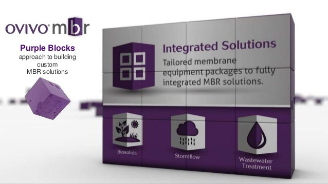 Ovivo MBR - Integrated Solutions