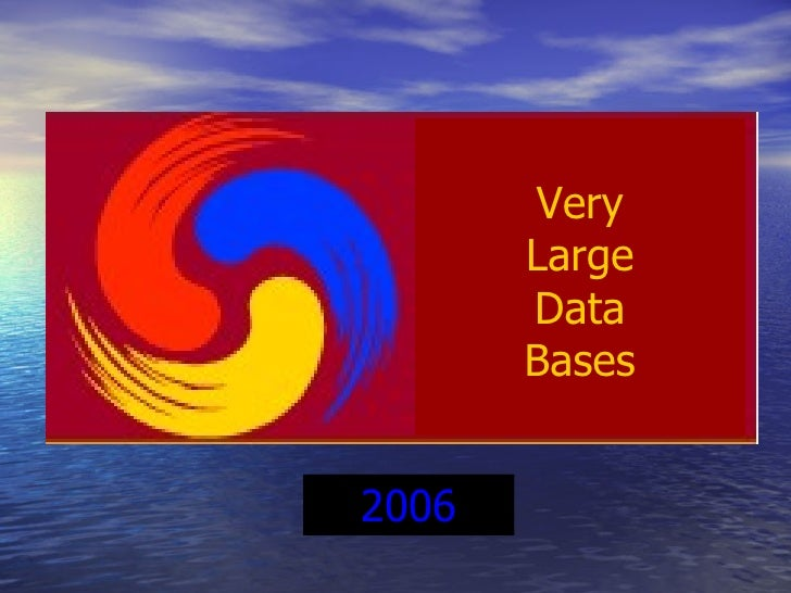 Uncertainty Lineage Data Bases Very Large Data Bases 1975 2006