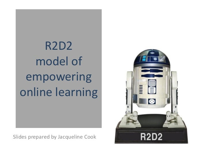 R2D2 model of empowering online learning