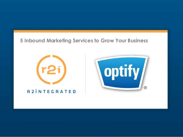 5 Inbound Marketing Services to Grow Your Business