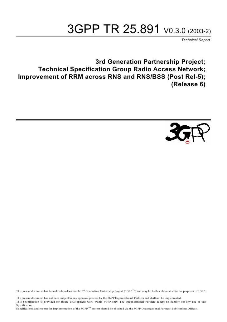 3GPP TR 25.891 V0.3.0 (2003-2)                                                                                            ...
