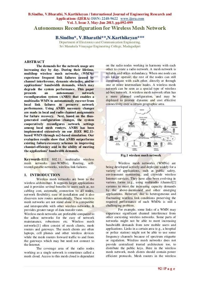 B.Sindhu, V.Bharathi, N.Karthikeyan / International Journal of Engineering Research andApplications (IJERA) ISSN: 2248-962...