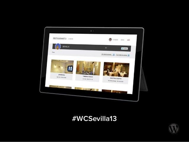 #WCSevilla13