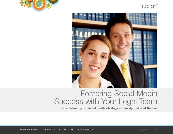 Fostering Social Media Success With Your Legal Team