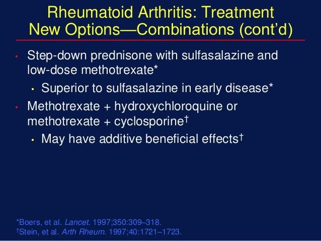 plaquenil prednisone and methotrexate