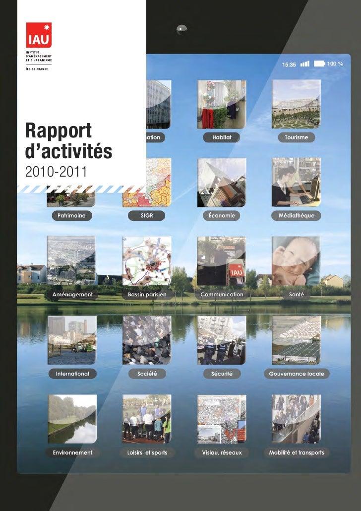 Rapportd'activités2010-2011