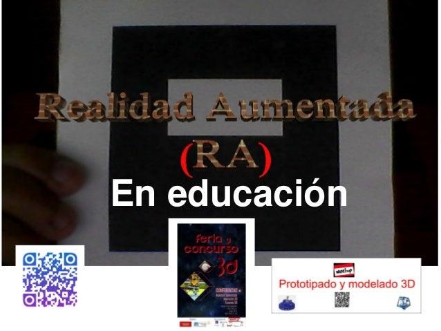 En educación