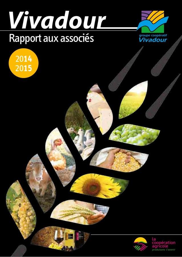 Rapportauxassociés 2014 2015 Vivadour