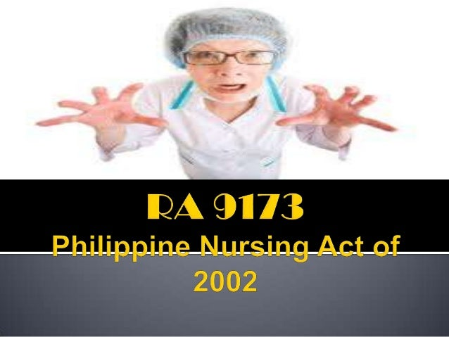 """""""An Act Providing for a More  Responsive Nursing Profession…"""""""