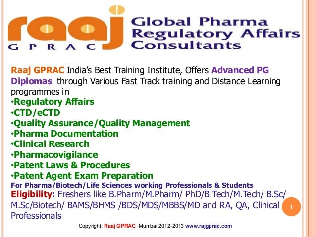 Raaj GPRAC India's Best Training Institute, Offers Advanced PGDiplomas through Various Fast Track training and Distance Le...