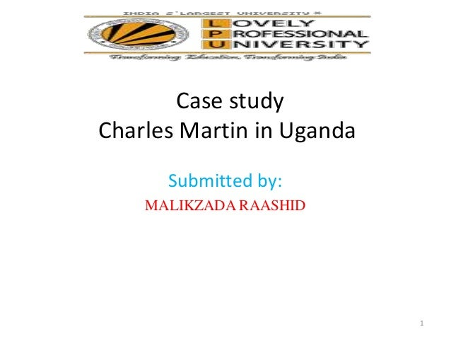 charles martin in uganda what to Charles g martin, dds is a practicing dentist in tampa, fl dr martin accepts  multiple insurance plans including assurant and cigna dental.