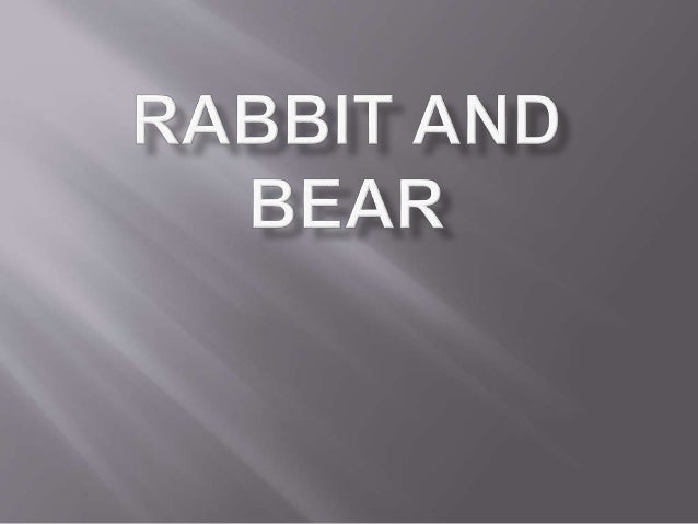 Rabbit and bear by imam fadchurrozi