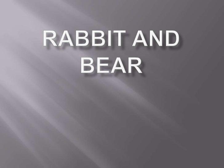 Rabbit and bear by imam fadchurrozi
