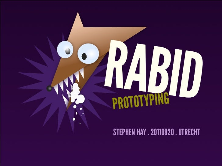 Fronteers Workshop: Rabid Prototyping
