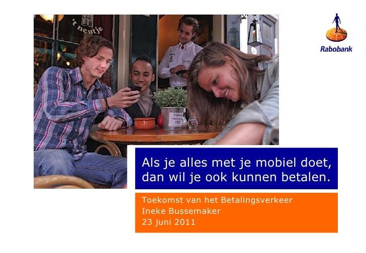 Finno - Rabobank: initiatieven voor mobiel betalen