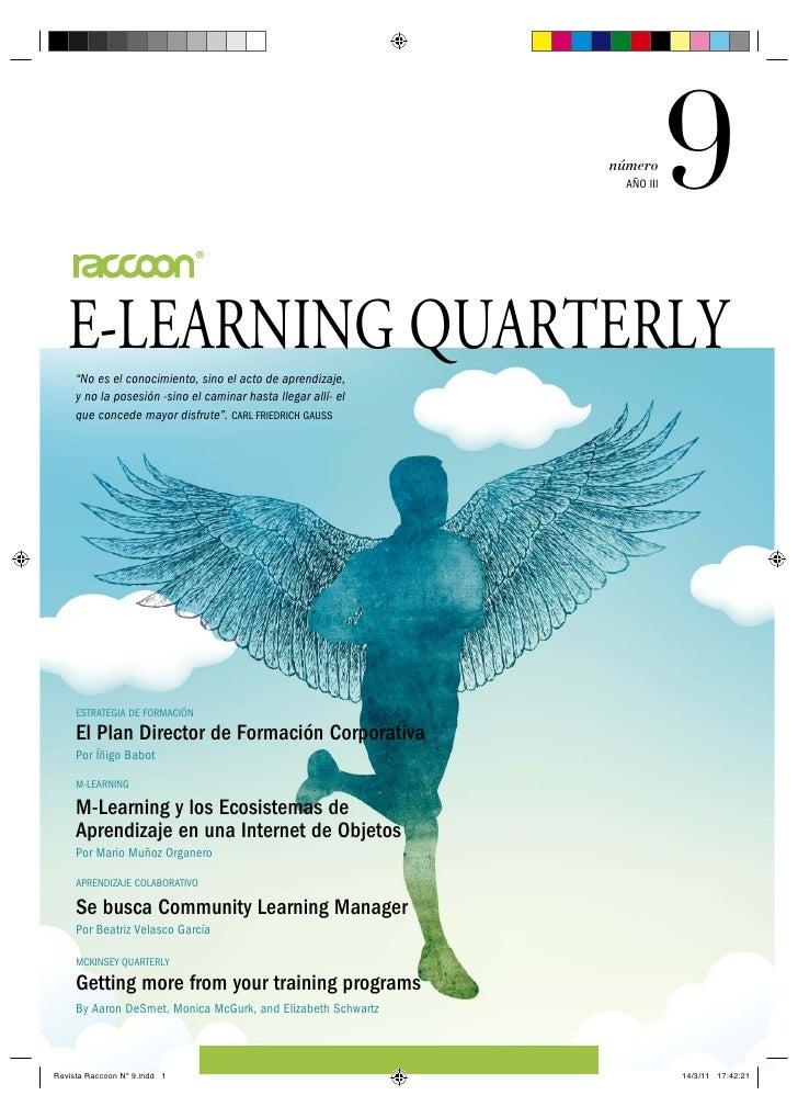 """número                                                            AÑO III   9E-LEARNING QUARTERLY""""No es el conocimiento, s..."""