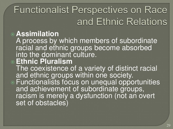 interactionist perspective racism The sociology of racism is the study of the relationship between racism, racial  discrimination, and racial inequality  from a sociological perspective, it is this  social construction  the symbolic interactionist tradition, some scholars explore.