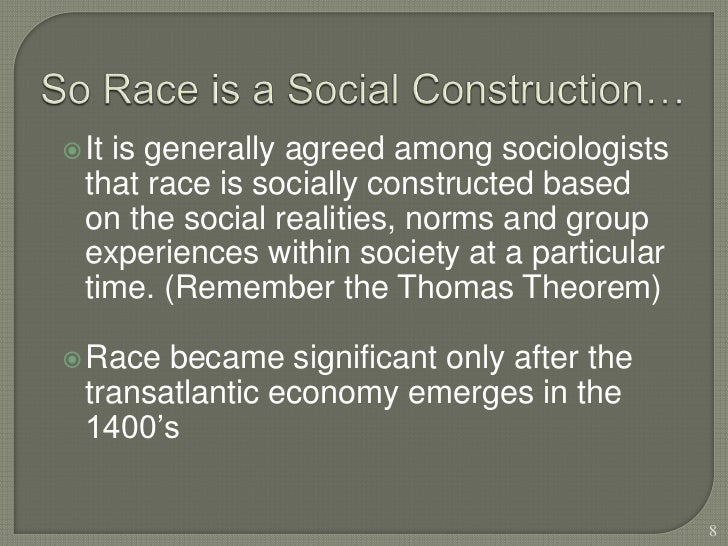 race a social construction essay Social construction essays social construction affects everyone's life and plays an important role in race cars, and action continue reading this essay.