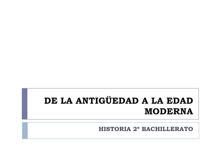 Raíces históricas de la España contemporánea I
