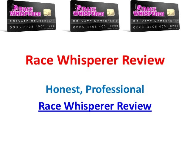 Race Whisperer Review - Read Race Whisperer