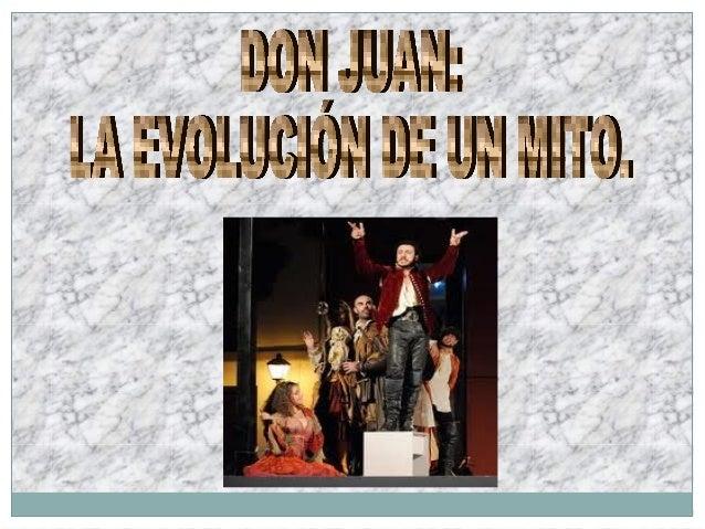 La figura de Don Juan aparece en el siglo XVII con Tirso de Molina, pero vamos a estudiar la obra de Zorrilla. Don Juan es...