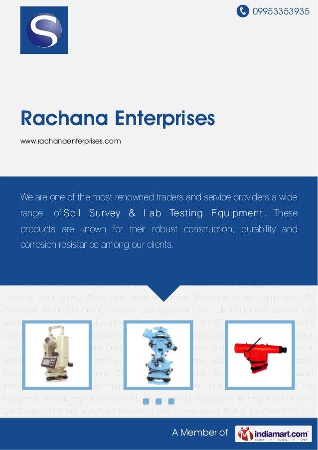 09953353935A Member ofRachana Enterpriseswww.rachanaenterprises.comDigital Theodolite Transit Theodolite Dumpy Level Level...