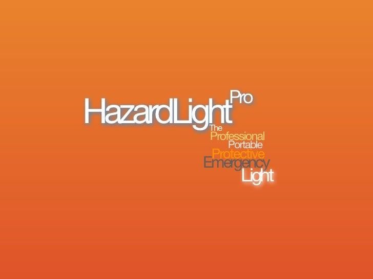 ProHazardLight         The         Professional               Portable         Protective        Emergency                ...