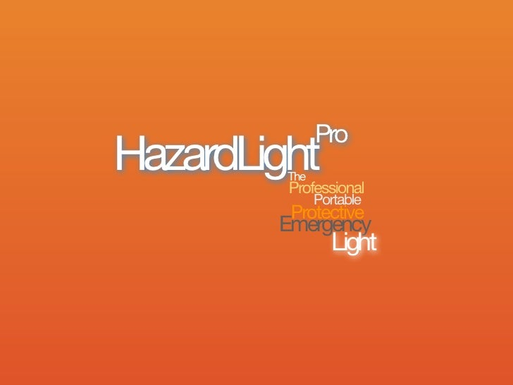 Rac hazard lightpro uk rrp & wp