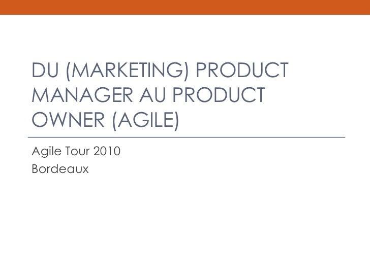 Rachel Dubois : du marketing product manager au product owner