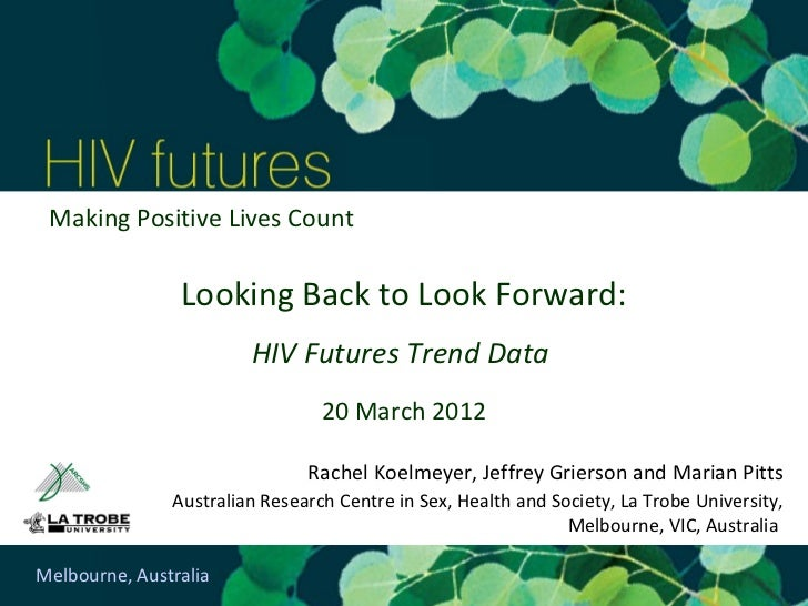 Looking Back to Look Forward: HIV Futures Trend Data