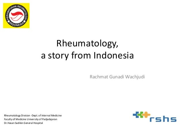 Rheumatic Diseases and patient organization effort in Bandung Indonesia