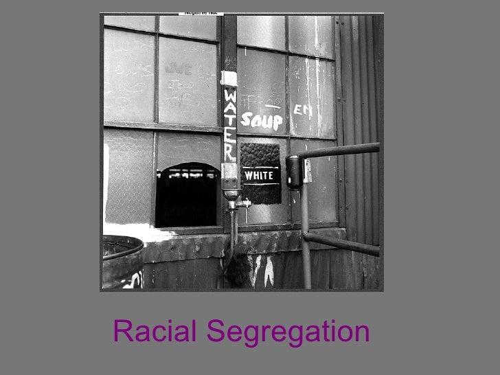 Segregation Essay Thesis