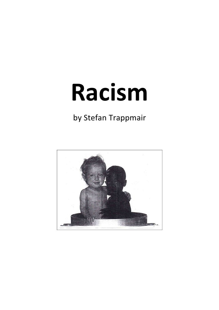 Racismby Stefan Trappmair
