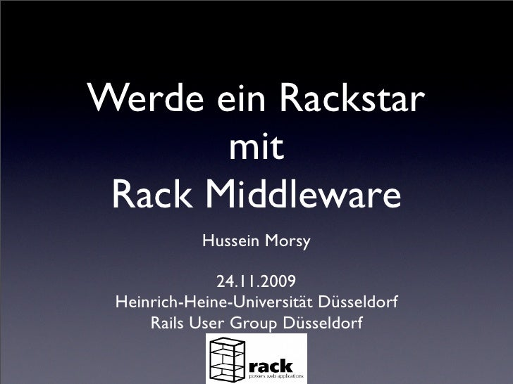 Rack-Middleware