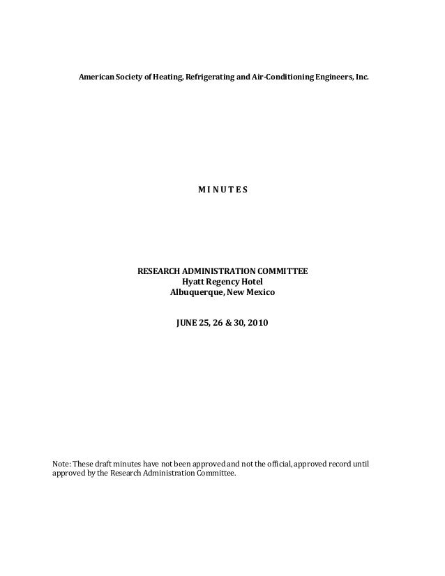 American Society of Heating, Refrigerating and Air-Conditioning Engineers, Inc.                                          M...
