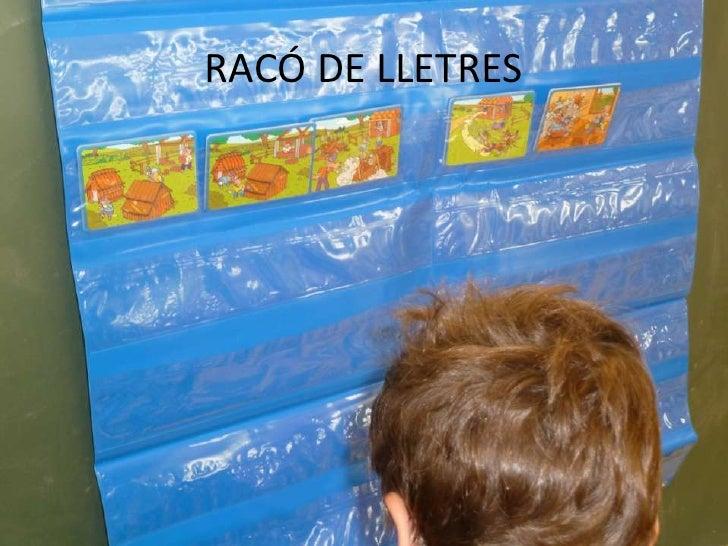 RACÓ DE LLETRES